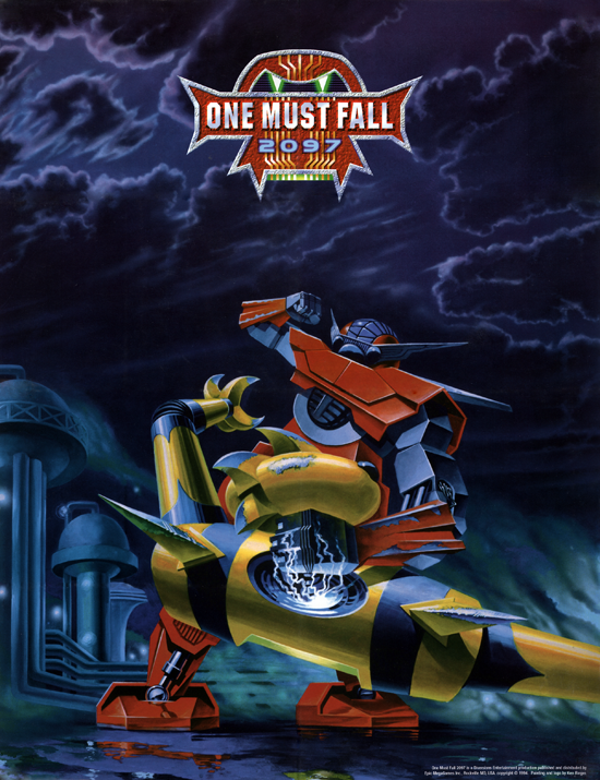 Rétro test One Must Fall 2097 (PC)
