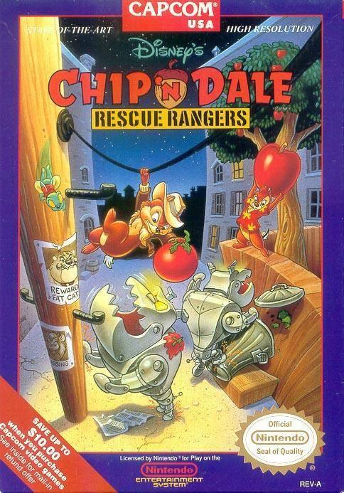 Rétro test Chip'N Dale Rescue Rangers (NES)
