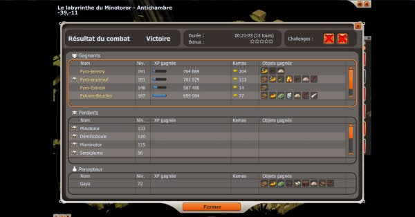 Drop du Dofus Pourpre !!!