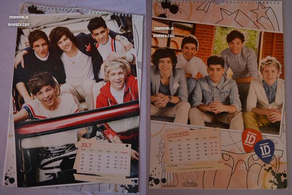 Découvre le calendrier officiel des One Direction 2013!