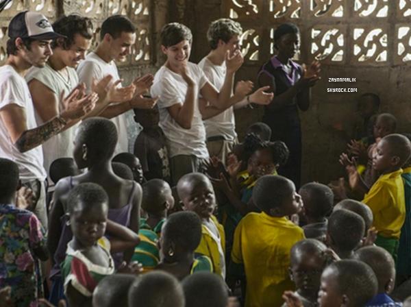 14 Janvier 2013 - Zayn arrivé au Ghana, en Afrique.