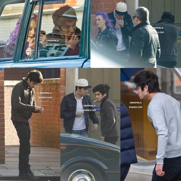 30 Janvier 2013 -  Zayn a été aperçu dans la ville de Londres.