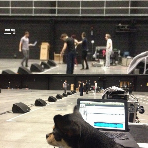 02 Février  2013 -  Zayn aperçu dans les studios, pour les répétitions du Take Me Home Tour! Londres.