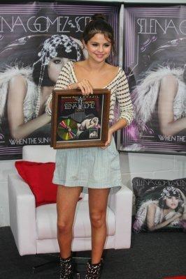 Selena Gomez au Brésil