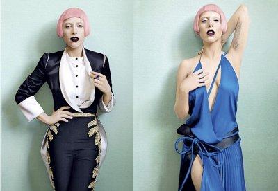 Lady gaga apparait dans Vogue !