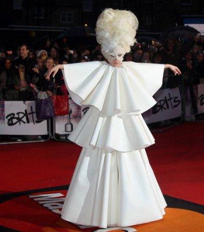 Les cheveux de Lady Gaga