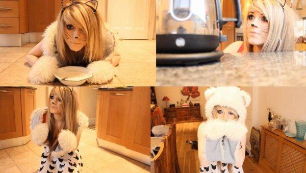 Omg i'm a cat :(