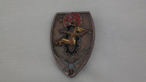 Insigne d'infirmier du 57 ème regiment d'artillerie