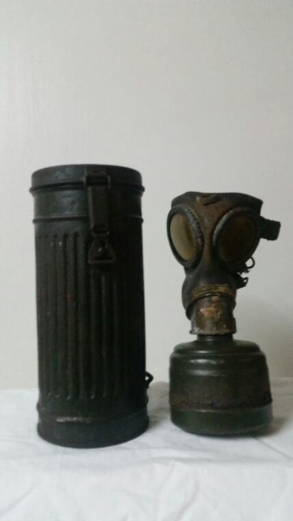 Masque à gaz  allemand  ww2