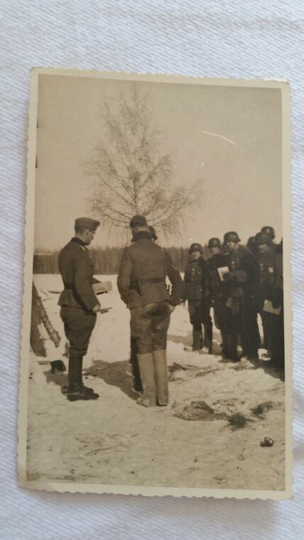 Photo allemand ww2 format carte postal