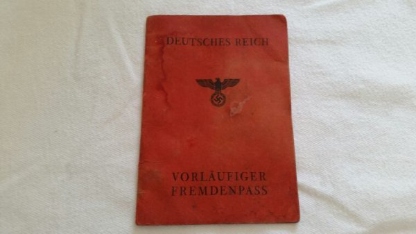 Passport  allemand ww2