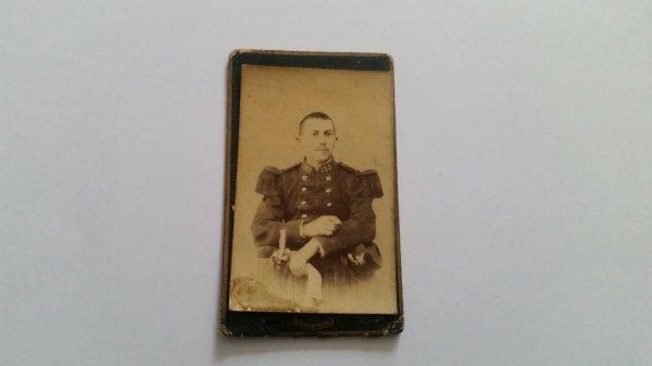 Superbe photo   de la tenue  1882