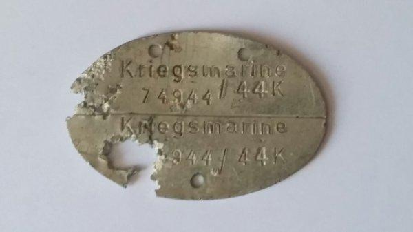 Plaque d identité  allemand ww2