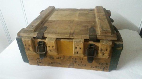 Caisse de grenade  ww2  français