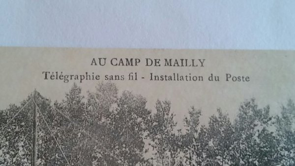 Carte postal  militaire