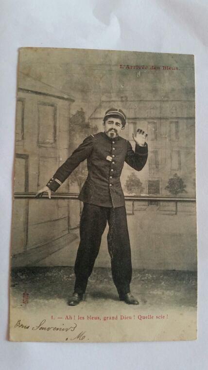 Carte postal militaire  1924 août 04