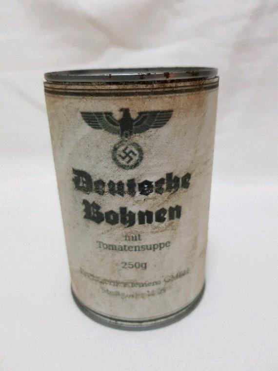 Boîte conserve  allemand ww2 copie de moi mêmes