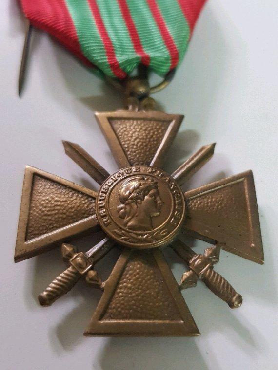 Croix de guère  ww2