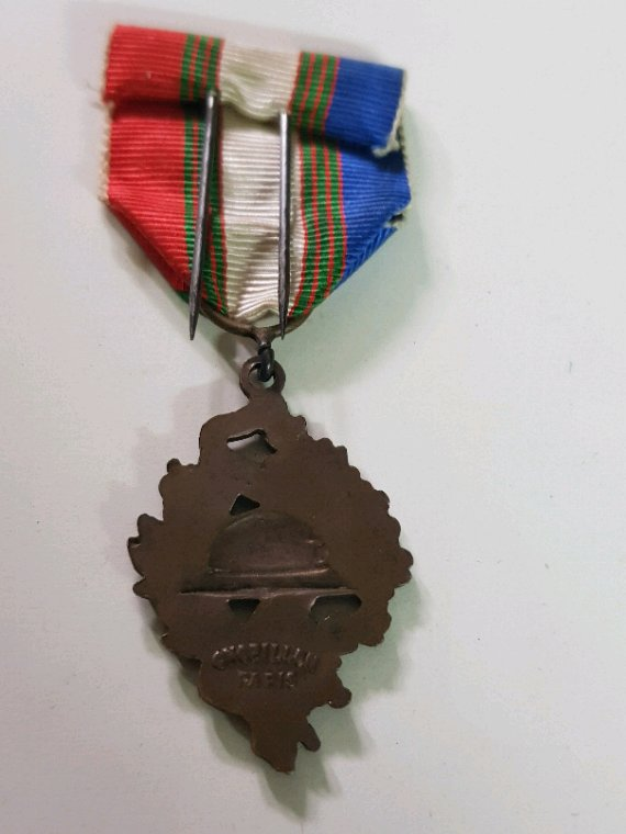 Médaille ww1