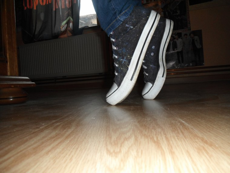 Chaussure galaxy ♥