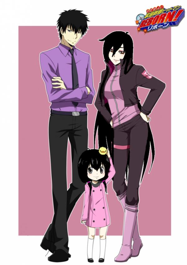 comment vous immaginer la famille d'Hibari ?