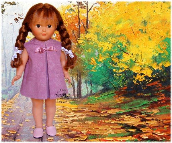 Tenue pour poupée Marie-Françoise Modes et Travaux Octobre 1965