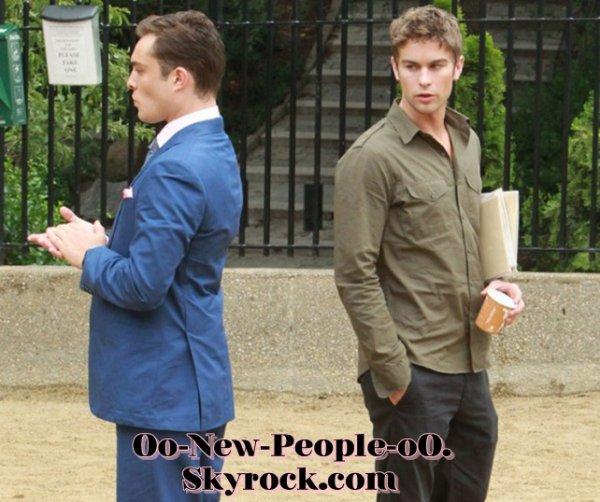 18.08.2011 - Reportage Photos : Ed Westwick, Penn Badgley et Chace Crawford : les Gossips boys