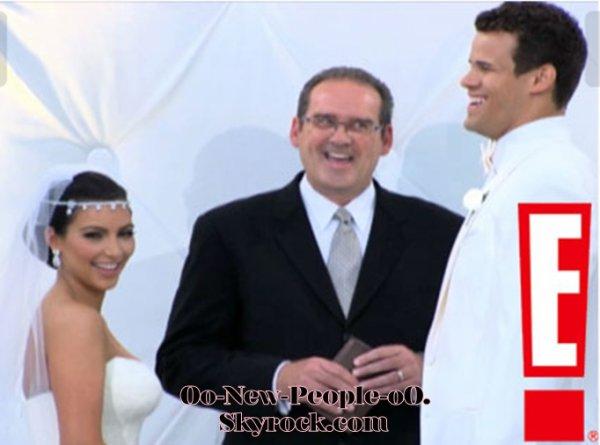 22.08.2011 - Reportage Photos : Kim Kardashian : découvrez-là en mariée éblouissante !