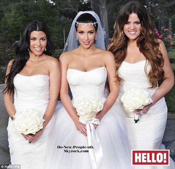30.08.2011 - Photos : Kim Kardashian dévoile une nouvelle photo de sarobe de mariag