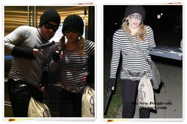 01.11.2011 -   Photos : Hilary Duff et Mike Comrie : les futurs parents ont fait sauter la banque !