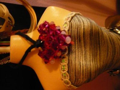 collier avec pendentif coeur