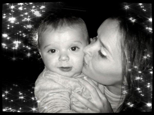 moi et ma fille cherie