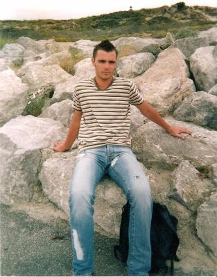Vacance avec Teddy, Aout 2007 au Touquet.