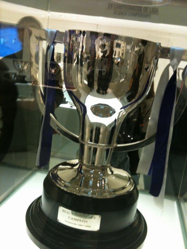 trophée de la liga