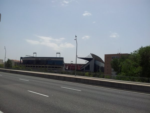 le stade de l'atletico madrid