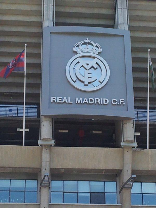 le logo du real madrid