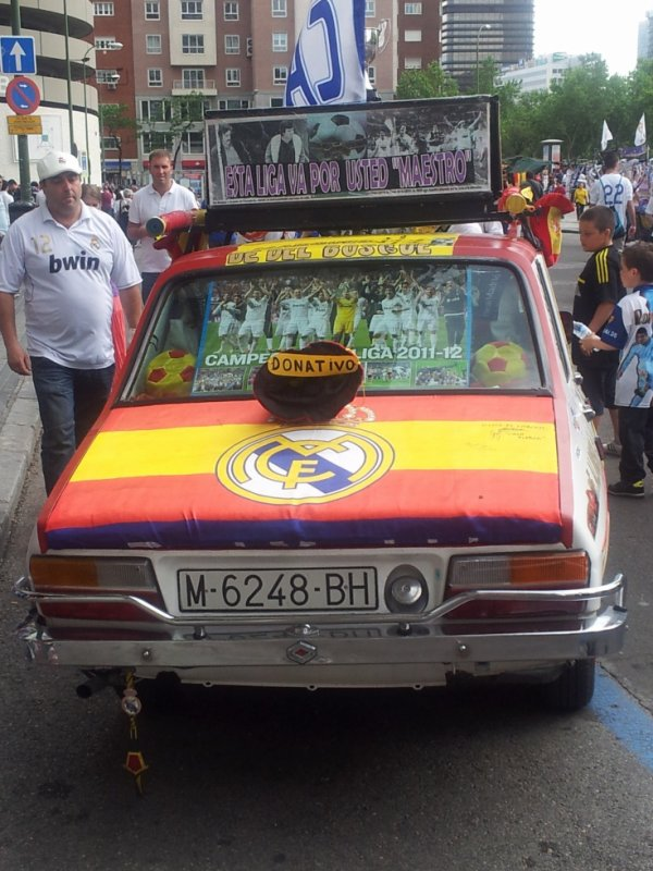 voiture du real madrid