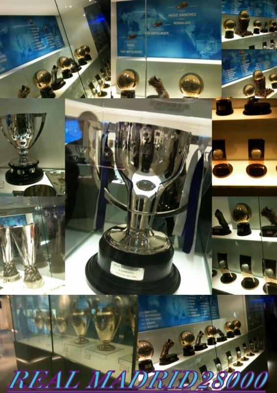 la salle des trophées du real madrid