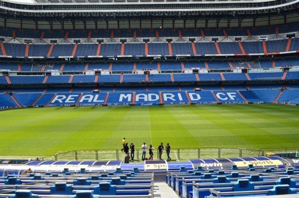 Les places VIP du stade du real madrid