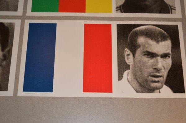 La photo de Zidane