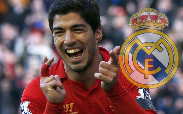 Le Real Madrid son sur la piste de Luis Suarez pour un transférer pour la saison 2014 – 2015