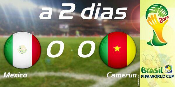 CM: MEXIQUE vs CAMEROUN
