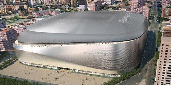 La nouvelle maquette du Stade Santiago Bernabéu