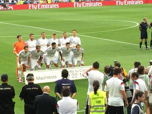 équipe du Real Madrid 2014