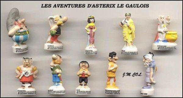 LES AVENTURES D'ASTERIX LE GAULOIS