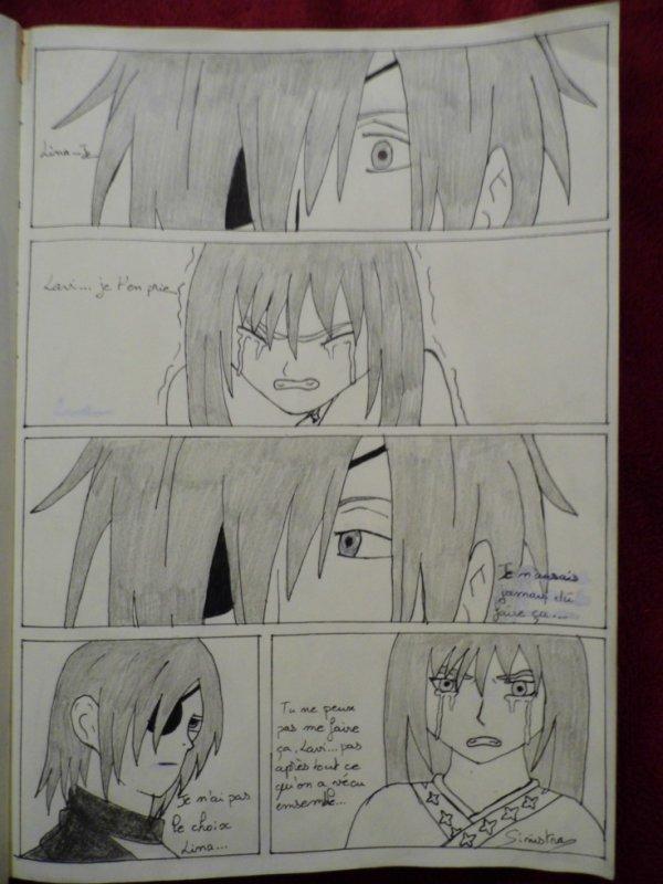 [Lina x Lavi] One shot: Lina, je suis désolé... page 1