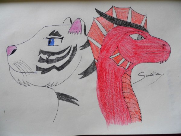 [Sinistra x Sven] Tigresse et dragon