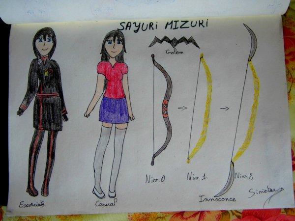 Fiche référence de Sayuri, la petite s½ur de Sinistra