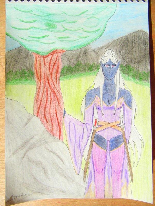 Larynda, l'elfe noire