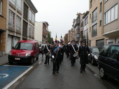 Défilé dans les rues de Berchem-Sainte-Agathe 30-10-2010